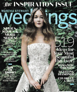 Martha Stewart Weddings 2016